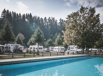 Camping Antholz mit Schwimmbad