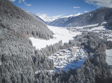 Camping Antholz Winter